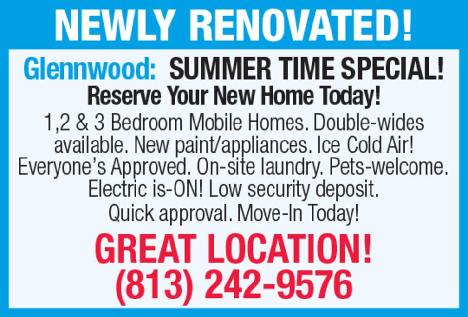 Tremendous Glenwood Mobile Homes In Habersham Lane Tampa Florida Home Remodeling Inspirations Cosmcuboardxyz
